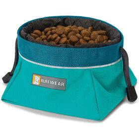 Ruffwear Quencher Cinch Top Ciotola, meltwater teal